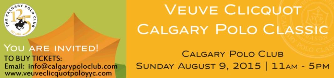 Veuve Clicquot Calgary Polo Classic 2015